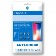 iPhone X Tempered glass 3D black 3D black