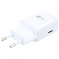 LG USB type-C Rapid travel charger 3000mAh  incl. Data cable white MCS-N04ER MCS-N04ER
