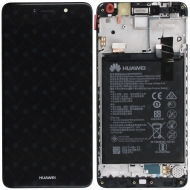 Huawei Y7 (TRT-L21) Display module frontcover+lcd+digitizer+battery grey 02351HSB