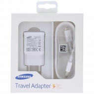 Samsung Fast travel charger 2000mAh incl. USB data cable white (EU Bister) EP-TA20EWEUGWW EP-TA20EWEUGWW