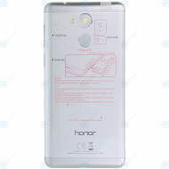 Huawei Honor 6C, Enjoy 6s Battery cover silver 97070QUN_image-4