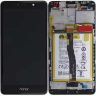 Huawei Honor 6X (BLN-L21) Display module frontcover+lcd+digitizer+battery grey 02351BNB_image-5