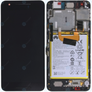 Huawei Nexus 6P (NIN-A2, NIN-A22) Display module frontcover+lcd+digitizer+battery 02350MXK