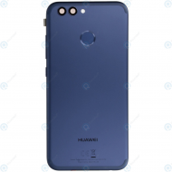 Huawei Nova 2 (PIC-L29) Battery cover incl. Battery blue 02351MQB