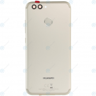 Huawei Nova 2 (PIC-L29) Battery cover incl. Battery gold 02351LRC