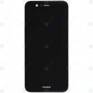 Huawei Nova 2 (PIC-L29) Display module frontcover+lcd+digitizer black 02351LQX_image-1
