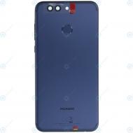 Huawei Nova 2 Plus (BAC-L21) Battery cover incl. Battery blue 02351LUB_image-4