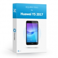 Huawei Y5 2017 Toolbox Toolbox with all the specific required tools to open the smartphone.