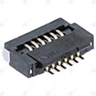 Samsung Board connector FPC flex socket 6pin 3708-003058