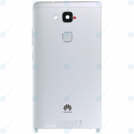 Huawei Ascend Mate 7 (JAZZ-L09) Battery cover silver 02350BXV_image-1