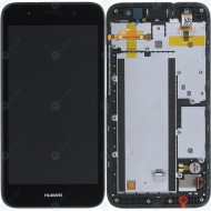 Huawei Y3 2017 (GRO-L22) Display module frontcover+lcd+digitizer dark grey 97070QXM