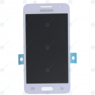 Samsung Galaxy Core 2 (SM-G355) Display unit complete white GH97-16070A (without front cover)_image-1