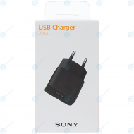 Sony QuickCharge travel charger 1500mAh incl. USB data cable black (EU-Blister) UCH20_image-5