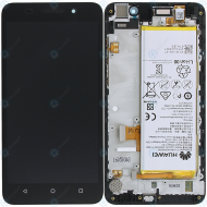 Huawei Honor 4X (CherryPlus-L11) Display module frontcover+lcd+digitizer+battery black