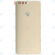 Huawei Honor 8 (FRD-L09, FRD-L19) Battery cover incl. Fingerprint sensor gold 02350YMX_image-1