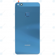 Huawei P10 Lite (WAS-L21) Battery cover incl. Fingersensor blue 02351FXD