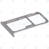 Huawei P9 Dual Sim (EVA-L19) Sim tray incl. MicroSD tray grey 51660WMB
