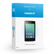 Lenovo A, Vibe A Toolbox Toolbox with all the specific required tools to open the smartphone.