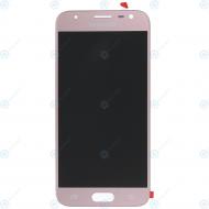 Samsung Galaxy J3 2017 (SM-J330F) Display module LCD + Digitizer pink GH96-10991A_image-1
