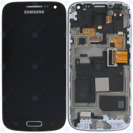 Samsung Galaxy S4 Mini (I9195) Display unit complete Black Edition (GH97-15631A)