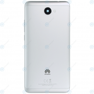 Huawei Y7 (TRT-L21) Battery cover silver 02351HEH