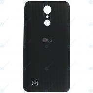 LG K10 2017 (M250N) Battery cover black ACQ89797201