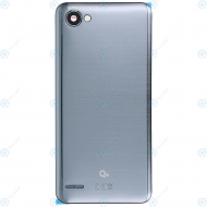 LG Q6 (M700N) Battery cover platinum ACQ89691202
