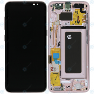 Samsung Galaxy S8 (SM-G950F) Display unit complete pink GH97-20457E_image-6