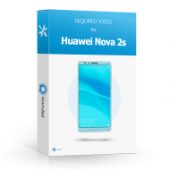 Huawei Nova 2s Toolbox Toolbox with all the specific required tools to open the smartphone.