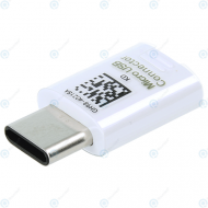 Samsung USB type-C to mircoUSB adapter white GH98-40218A