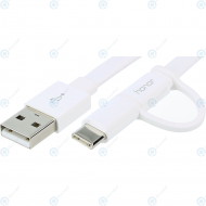 Huawei 2-in-1 USB data cable type-C white 1.5 meter AP55S