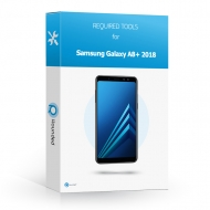 Samsung Galaxy A8 Plus 2018 (SM-A730F) Toolbox Toolbox with all the specific required tools to open the smartphone.