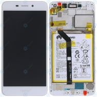 Huawei Honor 6C Pro (JMM-L22) Display module frontcover+lcd+digitizer+battery gold 02351LNB
