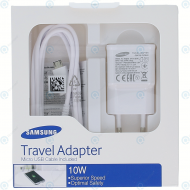 Samung Travel adapter 2000mnAh incl. USB data cable white (EU Blister) EP-TA12EWEUGWW