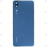 Huawei P20 (EML-L09, EML-L29) Battery cover midnight blue 02351WKU