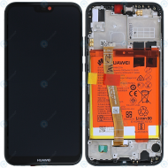 Huawei P20 Lite (ANE-L21) Display module frontcover+lcd+digitizer+battery midnight black 02351VPR