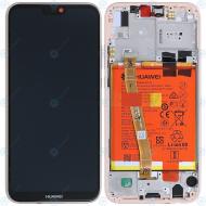 Huawei P20 Lite (ANE-L21) Display module frontcover+lcd+digitizer+battery sakura pink 02351VUW