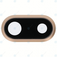 Camera lens gold for iPhone 8 Plus