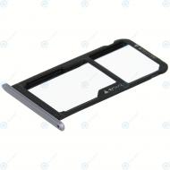 Huawei Honor 6C (DIG-L01, DIG-L21HN) Sim tray + MicroSD tray grey 97070QKX