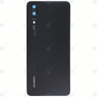 Huawei P20 (EML-L09, EML-L29) Battery cover black 02351WKV