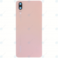 Huawei P20 (EML-L09, EML-L29) Battery cover pink gold 02351WKW