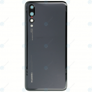 Huawei P20 Pro (CLT-L09, CLT-L29) Battery cover black 02351WRR