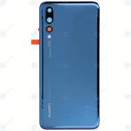 Huawei P20 Pro (CLT-L09, CLT-L29) Battery cover midnight blue 02351WRT
