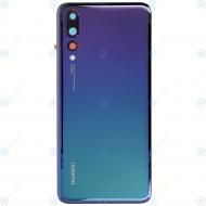 Huawei P20 Pro (CLT-L09, CLT-L29) Battery cover twilight 02351WRX