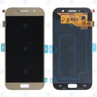 Samsung Galaxy A5 2017 (SM-A520F) Display module LCD + Digitizer gold GH97-19733B_image-2