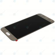 Samsung Galaxy J3 2017 (SM-J330F) Display module LCD + Digitizer gold GH96-10990A_image-3