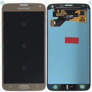 Samsung Galaxy S5 Neo (SM-G903F) Display module LCD + Digitizer gold GH97-17787B_image-3
