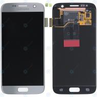 Samsung Galaxy S7 (SM-G930F) Display module LCD + Digitizer silver GH97-18523B_image-2