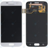 Samsung Galaxy S7 (SM-G930F) Display module LCD + Digitizer white GH97-18523D_image-2