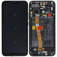 Huawei Honor 10 (COL-L29) Display module frontcover+lcd+digitizer+battery midnight black 02351XBM